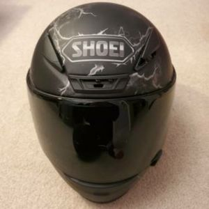Shoei RF 1200 Ruts Matte Black Motorcycle Helmet
